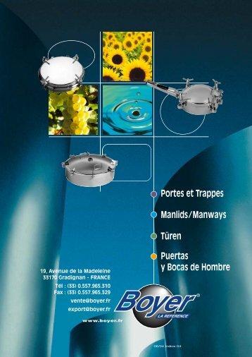 Catalogue Boyer 2007