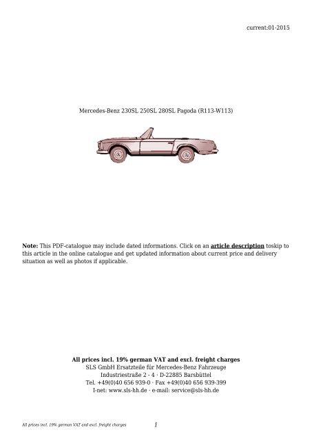 Mercedes Benz 230SL 250SL 280SL Dash Bulb Set Complete Set of bulbs