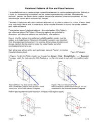 Rotational Patterns - Pick and Place