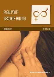 Newsletter März 2010 - Plattform sexuelle Bildung