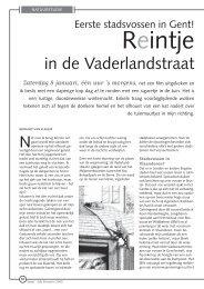 in de Vaderlandstraat - Natuurpunt Gent