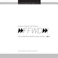 Utorkom u Galeriji / Fast Forward - Culturenet