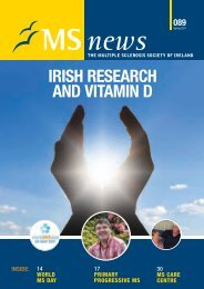 Download PDF - MS News Issue 89 Part 1 - MS Ireland