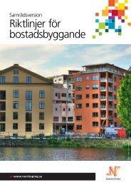 Riktlinjer för bostadsbyggande - Norrköpings kommun