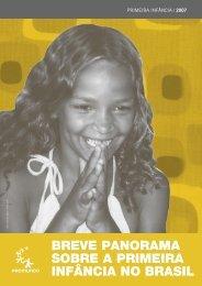Breve Panorama sobre a Primeira Infância no Brasil - Promundo