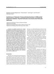 Usefulness of Galectin-3 Immunohistochemistry in Differential ...