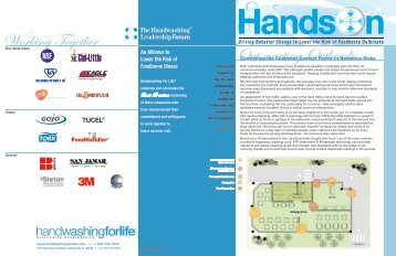 Working Together Outsmarting Outbreaks - Handwashing for Life ...