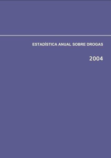 ESTADÍSTICA ANUAL SOBRE DROGAS - Plan Nacional sobre ...