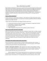 More on Below Market Loans _Ch - Aspen Publishers