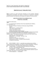 protocoale terapeutice - Spitalul Clinic Municipal de Urgenta ...