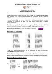 Saison 2011-2012 Ausschreibung Jugend neu - TV Dinklage - Fußball