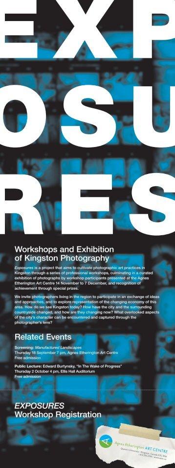 Download Exposures poster and registration form (.pdf) - Agnes ...