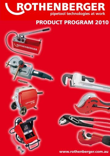 Reece | Plumbing | Tools and Hardware | Rothenberger Catalogue ...