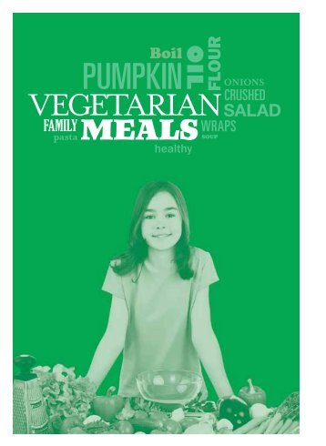 Vegetarian meals - SA Health