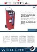 Sistemi trattamento refrigeranti A/C Air conditioning ... - Wertherint.de - Page 3