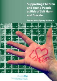 Support Children and Young People at Risk of Self Harm and Suicide