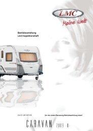 Betriebsanleitung und Inspektionsheft - LMC Caravan