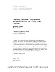 Improving Operations Using Advanced Surveillance Metrics and ...