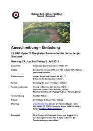 Ausschreibung hsc open final - Hamburger Tennis-Verband e.V.