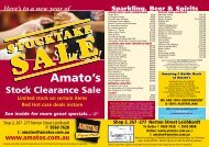 Here's to a new year of Savings! - Amatos Liquor Mart
