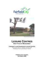 Cabramatta and Prairiewood Leisure Centres - Fairfield City Council