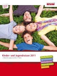 Kinder- und Jugendreisen 2011 - gdl-koeln.com