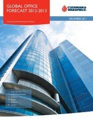 Global office forecast 2012-2013 - Cushman & Wakefield Russia