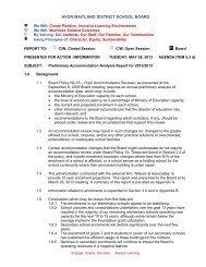 13-05-28_PreliminaryAccommodation Review - Avon Maitland ...