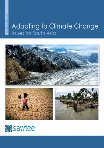 adapting to climate change Climate change impacts our communities in many ways, including stresses to water resources threats to coastal environments and communities negative impacts on human health changing demand.