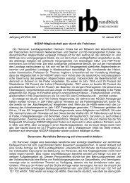 als PDF herunterladen - Stiftung EINE CHANCE FÜR KINDER