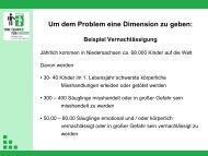 Vortrag_13_07_15 - Stiftung EINE CHANCE FÜR KINDER