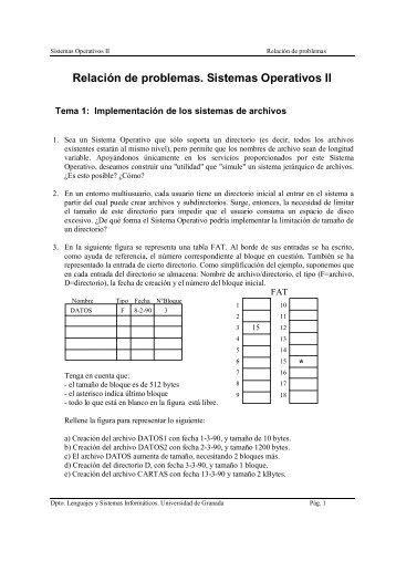 Documento - Departamento de Lenguajes y Sistemas Informáticos ...