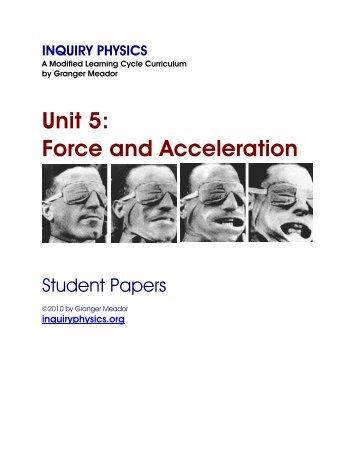 unit 3 uniform acceleration models. Black Bedroom Furniture Sets. Home Design Ideas