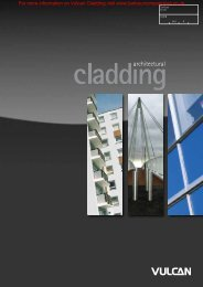 Vulcan Cladding Brochure - Barbour Product Search