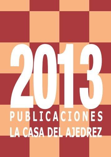 Catálogo 2013 - La Casa del Ajedrez