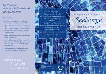 Seelsorge am Lebensende - FD Region Hannover