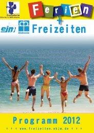 Wir sind Freizeit - Freizeiten des EKJM - Evangelische Kinder- und ...