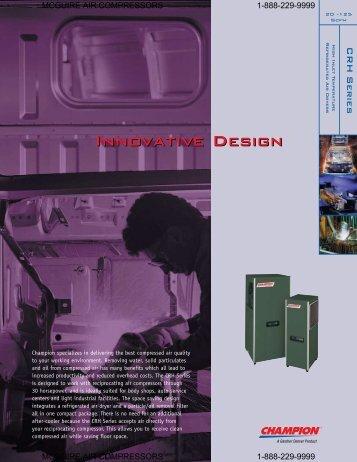 Innovative Design - McGuire Air Compressors, Inc