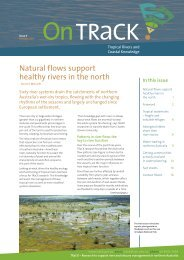 OnTRaCK Issue 5 - TRaCK: Tropical Rivers and Coastal Knowledge