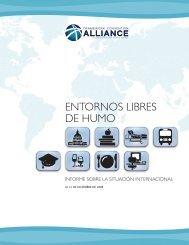 ENTORNOS LIBRES DE HUMO - Campaign for Tobacco-Free Kids