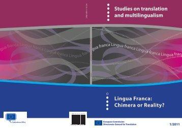 lingua franca - European Commission - Europa