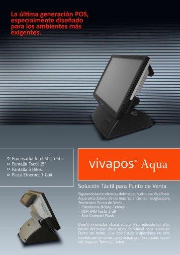 vivapos® Aqua - Pantalla Tactil