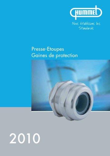 HSK-standard presse-étoupes