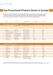 Top Promotional Products Shows in Europe