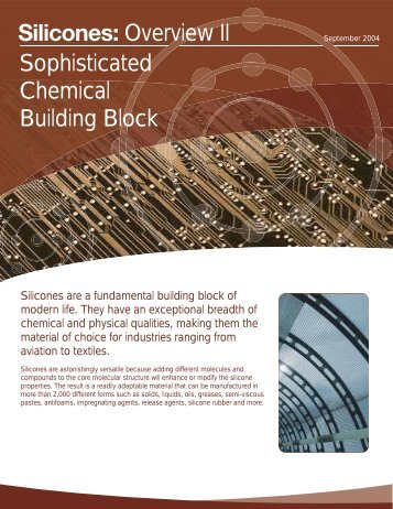 Silicones: Sophisticated Chemical Building Block - Dow Corning