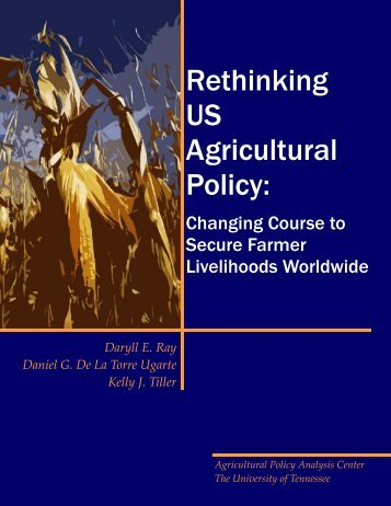Executive Summary - Agricultural Policy Analysis Center