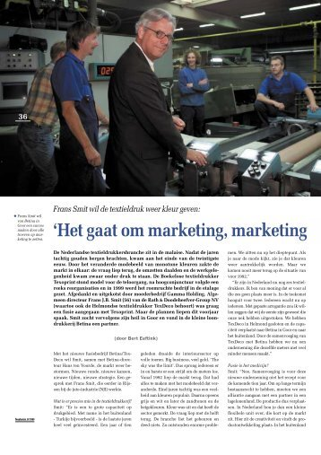 'Het gaat om marketing, marketing - Twentevisie
