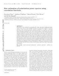 arXiv:astro-ph/0303414 v1 18 Mar 2003 - iucaa