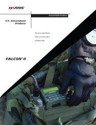 FALCON II U.S. Government Products Brochure