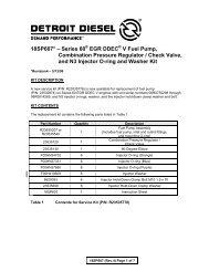 18SP607* – Series 60 EGR DDEC V Fuel Pump ... - ddcsn